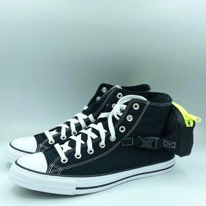 Converse Mens CTAS  Buckle Up Hi 168261C Black/Wht